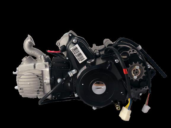 125cc KXD Semi-Automatik 3+1 ATV Motor