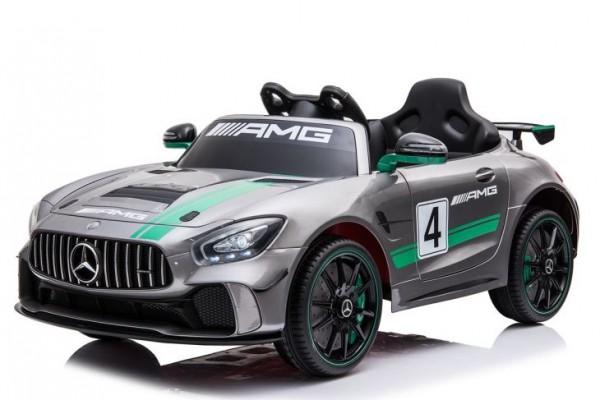Mercedes GT Painting Grey Kinderauto Lizenz
