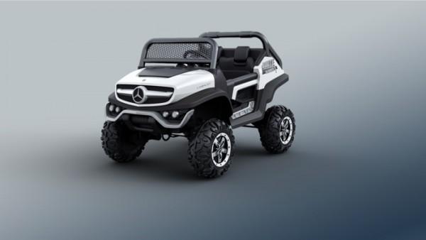 Mercedes Unimog Kinderauto Lizenz